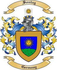 Sontag family crest