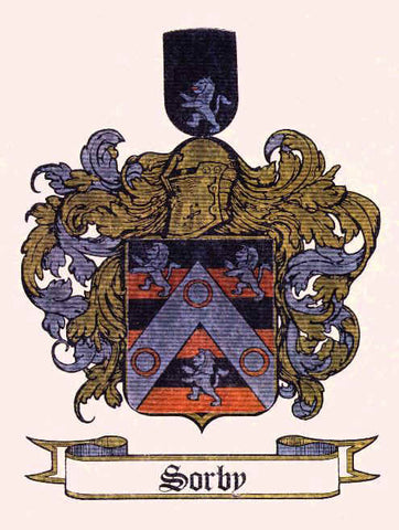 Sorby family crest