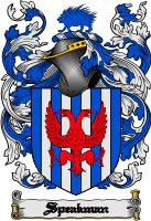 Speakman family crest