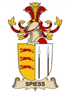 Spiess family crest
