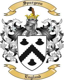 Spurgeon family crest