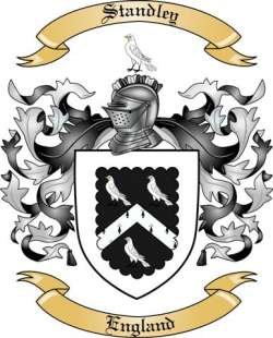 Standley family crest