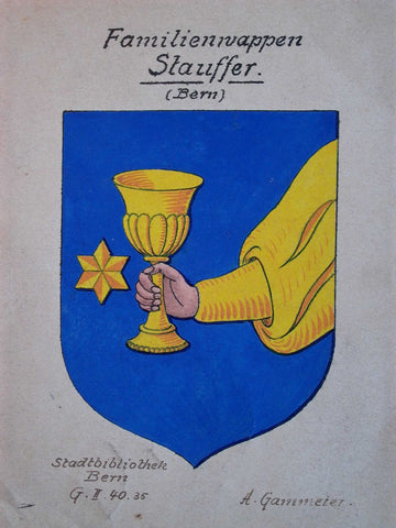 Stauffer family crest