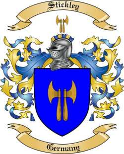 Stickley family crest