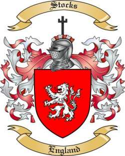 Stocks family crest