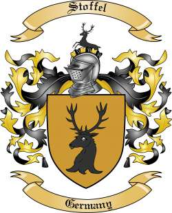 Stoffel family crest