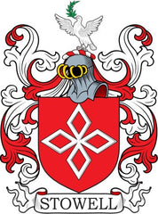 Stowell family crest