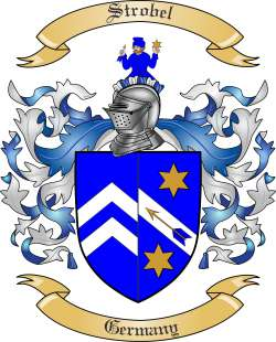 Strobel family crest