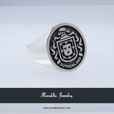 Sutherland family crest ring