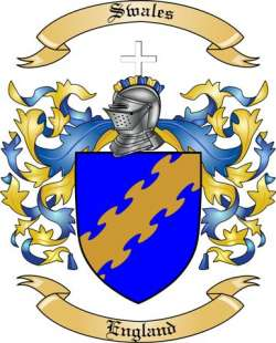 Swales family crest