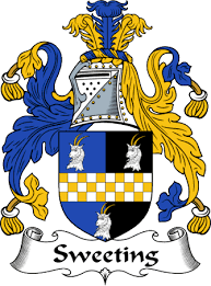 Sweeting family crest