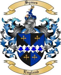 Symes family crest