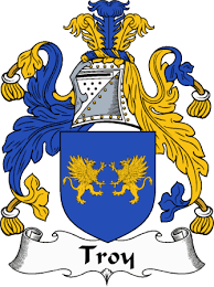 Troy family crest