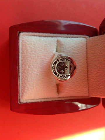 Terry family crest ring