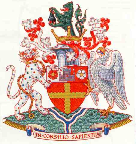 Tewkesbury family crest