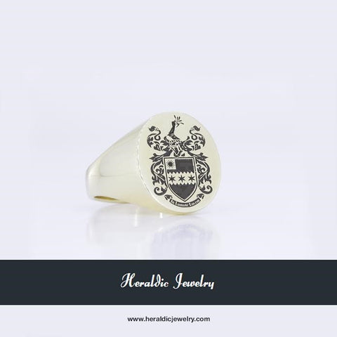 Thompson family crest ring