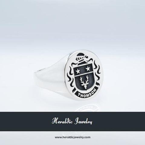 Thomson family crest ring