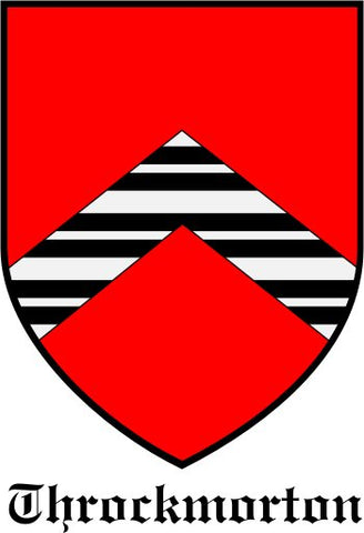Throckmorton family crest