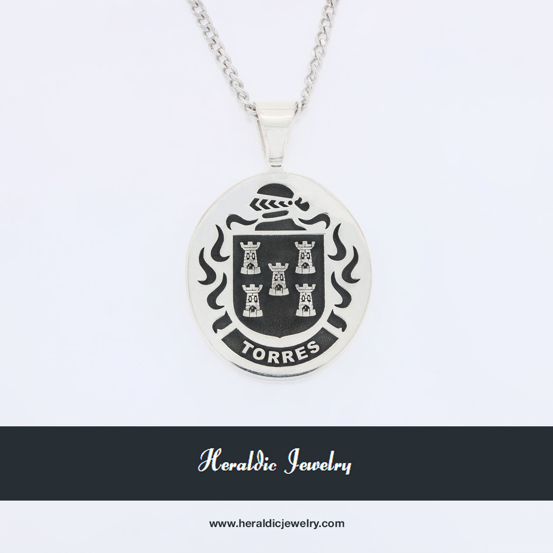 Torres family crest ring