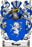 Troyer family crest