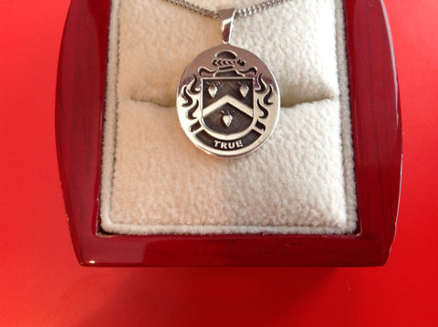 True family crest pendant