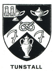 Tunstall family crest