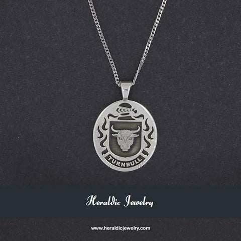 Turnbull family crest pendant