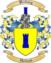 Verburg family crest