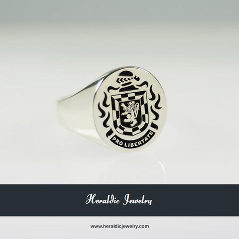 Wallace family crest ring