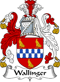 Wallinger family crest