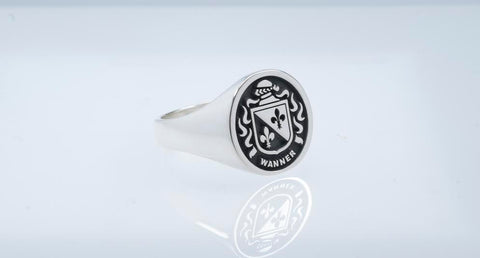 Wanner family crest ring
