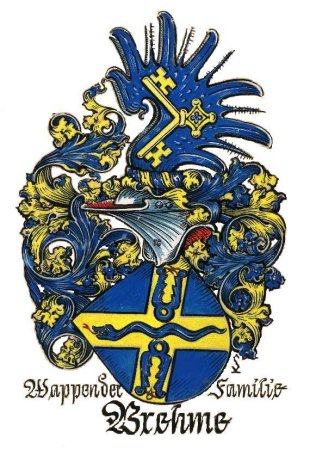 Brehme family crest