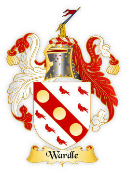 Wardle family crest