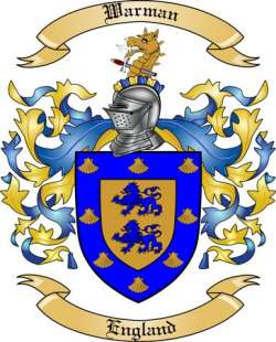 Warman family crest