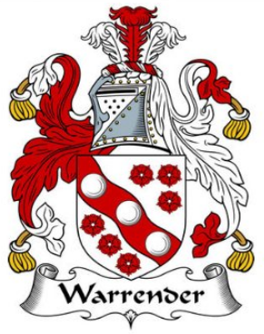 Warrender family crest