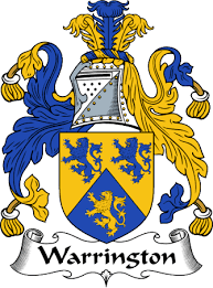 Warrington family crest