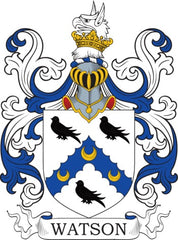 Watson family crest