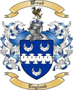 Waud family crest
