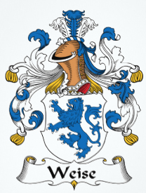 Weise family crest