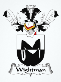 Wightman family crest