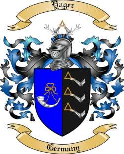 Yager family crest