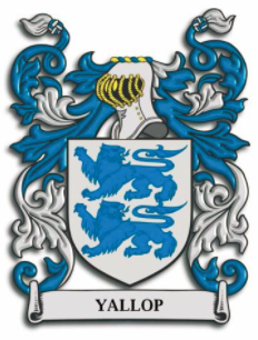 Yallop family crest