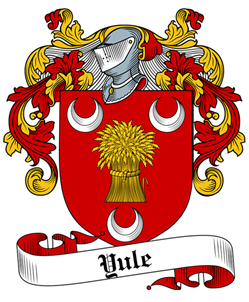 Yule family crest