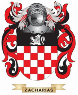 Zacharias family crest