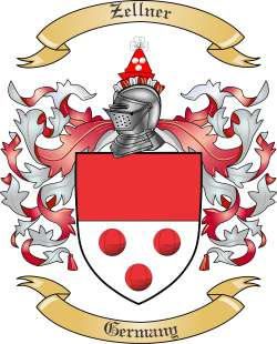 Zellner family crest