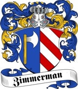 Zimmerman family crest