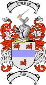 Able family crest