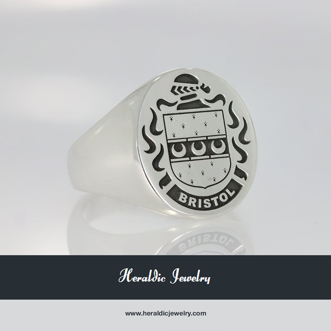 Bristol family crest ring