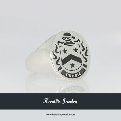 Brodie family crest ring