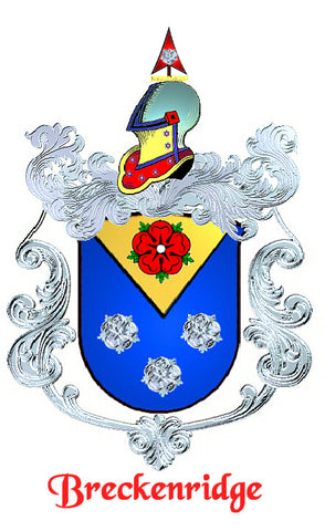 Breckenridge family crest